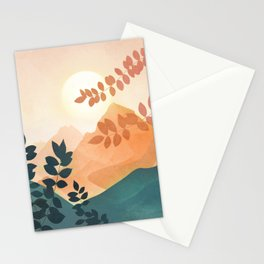 Morning in The Mountains Stationery Cards