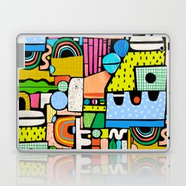 Color Block Collage Laptop & iPad Skin