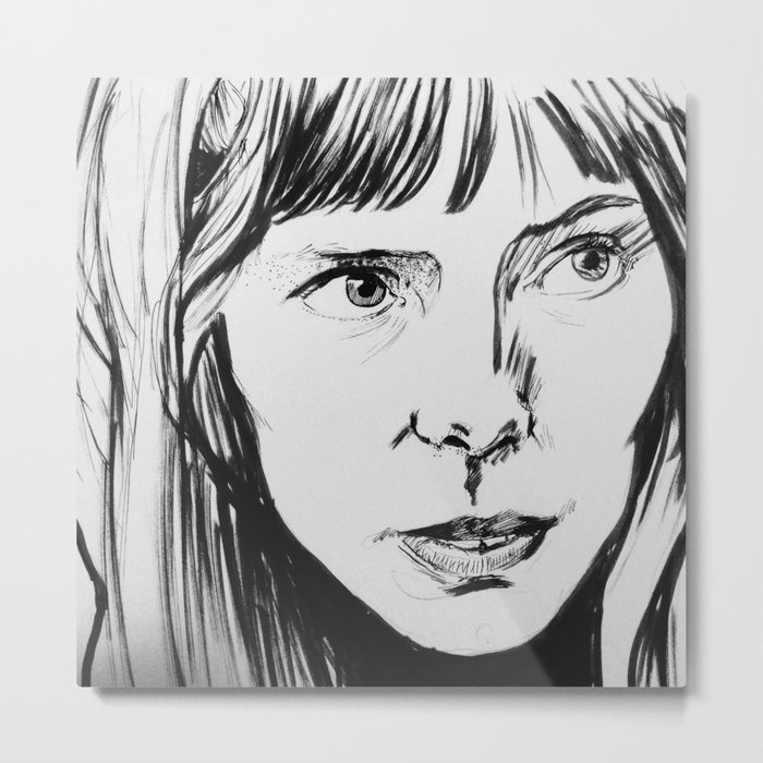 Joni Mitchell Metal Print
