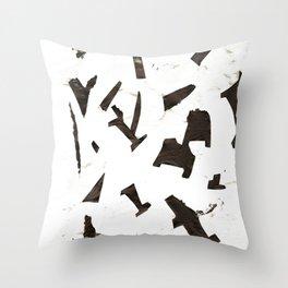 Rock N' Ice Print Throw Pillow