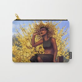 Forsythia Witch II Carry-All Pouch