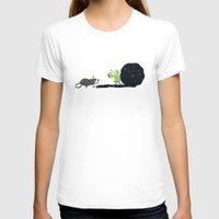 katamari T-shirts featuring Dung Roller Katamari by Hoborobo