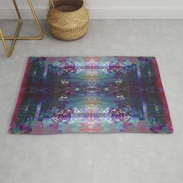 (Charging, Chanting Down) The Jungle Line Rug
