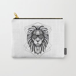 Ornate Cool Lion Carry-All Pouch