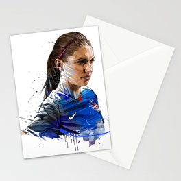 Alex Morgan Art Stationery Cards