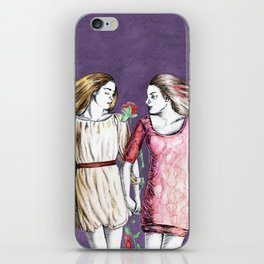 Snow White & Rose Red iPhone Skin