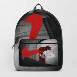 The Winged Victory Of Samothrace Backpack