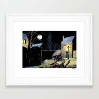 moto Framed Art Prints featuring Moto by Mouah