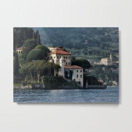 Villa del Balbianello - Lake Como Metal Print