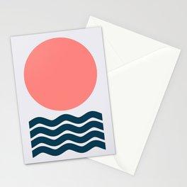 Geometric Form No.9 Stationery Cards
