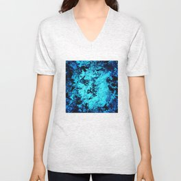 Cave Pool Painting Unisex V-Neck