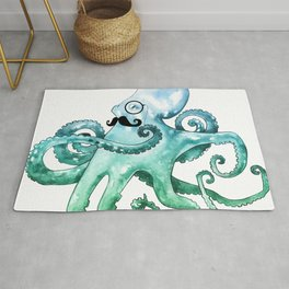 Dapper Octopus Rug