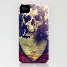 Miss Skull Slim Case iPhone (4, 4s)