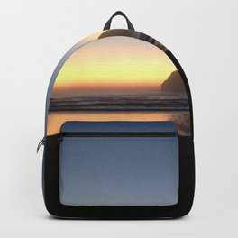 Sunset over the Pacific Backpack