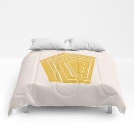 Geode II - in Citrine Comforters