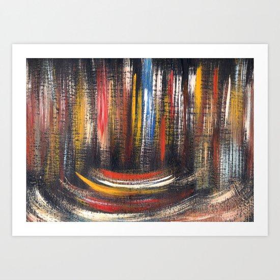 Multicolor 675 Art Print