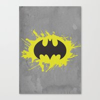 bat man Canvas Prints featuring Bat Man by Some_Designs