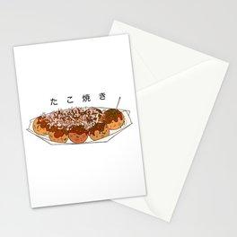 Juicy Tokyo Takoyaki Stationery Cards