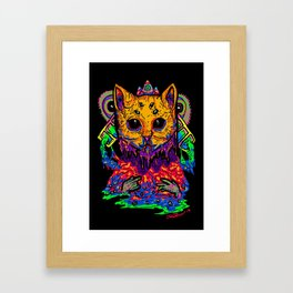Charging Up Framed Art Print