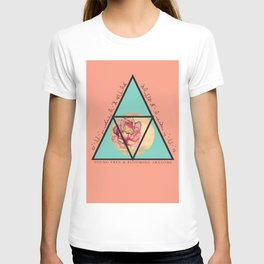 Young Free & Blooming Awesome T-shirt