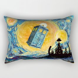 Gallifrey Planet Rectangular Pillow