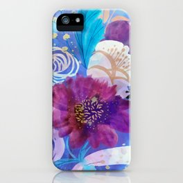Spring floral mood iPhone Case
