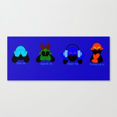 The Evils Canvas Print