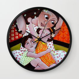 """My Little Nest"" Wall Clock"