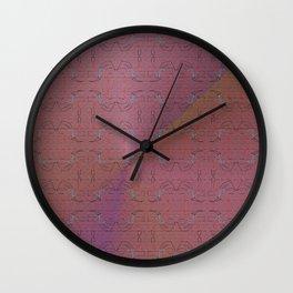 Flex pattern 6 Wall Clock