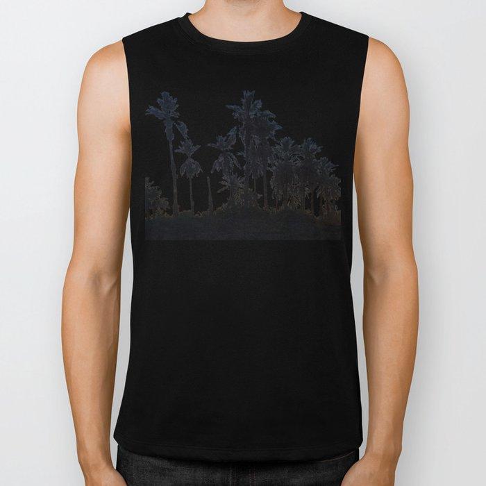 Date Palm Trees 3 Biker Tank