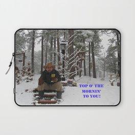 Top o' the Mornin' to you Laptop Sleeve