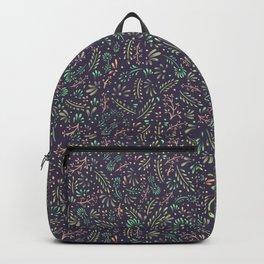 Pastel Flower Ditsy Pattern Backpack