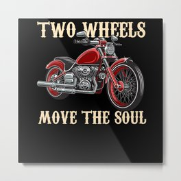 Motorcyclist Gifts - Motorcyclists Metal Print