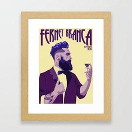 Fernet Branca new age Framed Art Print