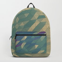 Only Colored Triangles Backpack