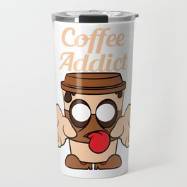 Perfect for coffee and zombie lovers like you! Makes a nice and unique gift this holiday season! Travel Mug