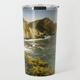 Willow Creek Picnic Area and Beach, Cabrillo Hwy, California Coastline Travel Mug