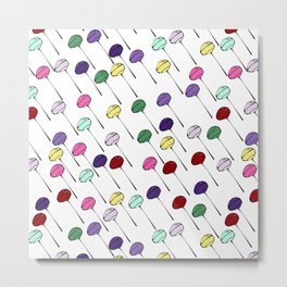 Lollies Metal Print