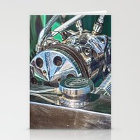 ford Stationery Cards featuring Ford V8 by Shalisa Photography