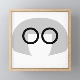 JUST Edna Framed Mini Art Print
