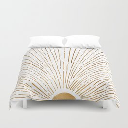 Let The Sunshine In Duvet Cover
