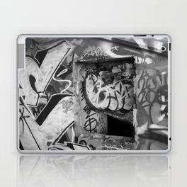 Urban graffiti Miami Abandoned Marina Stadium in Key Biscayne Laptop & iPad Skin