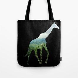 Giraffe in the Smokies  Tote Bag