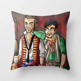 reverse25th!Enjolras and Grantaire Throw Pillow