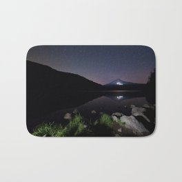 A Trillium Night Bath Mat