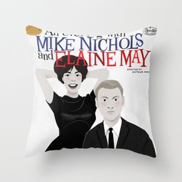 An Evening with Nichols & May Throw Pillow