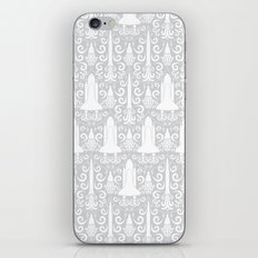 Rocket Science Damask iPhone Skin