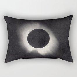 Solar Corona Eclipse of 1919 Rectangular Pillow