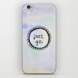 puerta project: just go  iPhone Skin