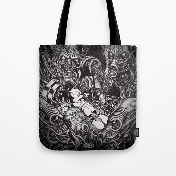 Alien Abduction - The Mouse Tote Bag